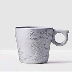 Starbucks 2016 Anniversary Siren Tail Mug 12oz NIB